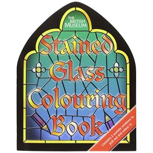 Stained Glass (Shaped) (British Museum Colouring Books)