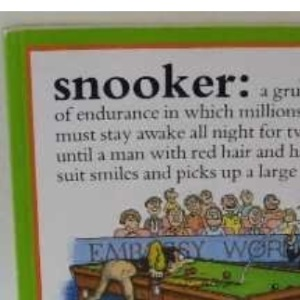 Snooker Dictionary