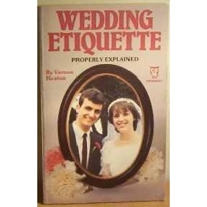 Wedding Etiquette Properly Explained (Paperfronts)