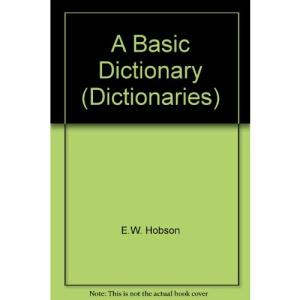 A Basic Dictionary (Dictionaries)