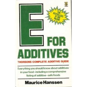E for Additives:Comp Additive