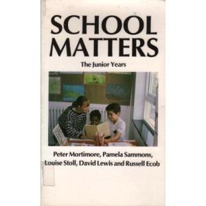 School Matters: The Junior Years