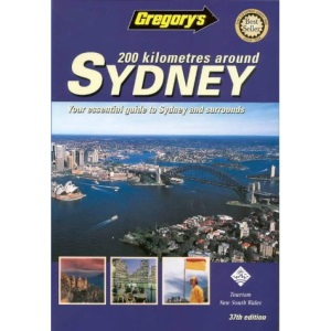 200km Around Sydney (Gregory's Touring & Recreational Guides S.)