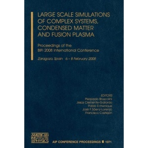 Large Scale Simulations of Complex Systems, Condensed Matter and Fusion Plasma: Proceedings of the BIFI2008 International Conference (AIP Conference Proceedings / Plasma Physics)
