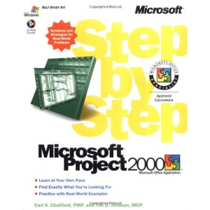 Project 2000 Step By Step Book/CD Package (EU-Step by Step)