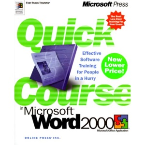 Quick Course in Word 2000 (Online Press)