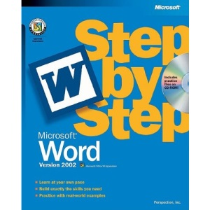 Word 2002 Step by Step Book/CD Package (Step by Step (Microsoft))
