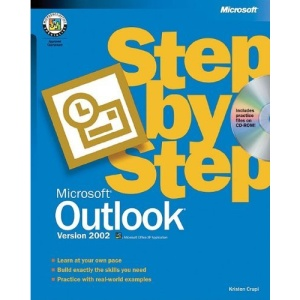 Outlook 2002 Step by Step Book/CD Package (Step by Step (Microsoft))