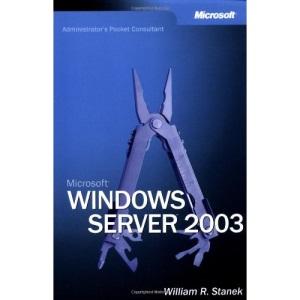 Windows Server 2003 Administrator's Pocket Consultant