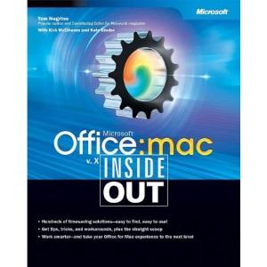 Office:Mac v.X Inside Out (Inside Out (Microsoft))