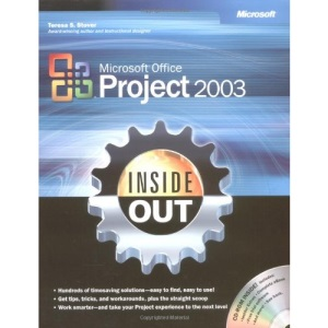 Project 2003 Inside Out Book/Cd Package (Inside Out (Microsoft))