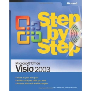Visio 2003 Step by Step Book/CD Package (Step by Step (Microsoft))