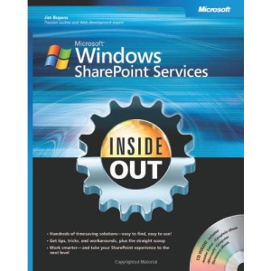 Microsoft® Windows® SharePoint® Services Inside Out