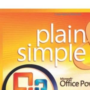 Microsoft® Office PowerPoint® 2007 Plain & Simple (Plain & Simple Series)