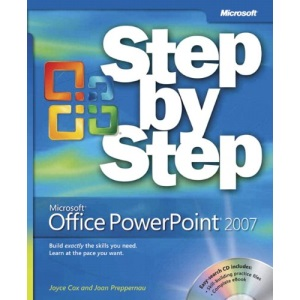 Microsoft Office PowerPoint 2007 Step by Step Book/CD Package (Step by Step (Microsoft))