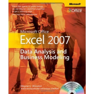 Microsoft Office Excel 2007: Data Analysis & Business Modeling Book/CD Package: Data Analysis and Business Modeling (BPG-others)