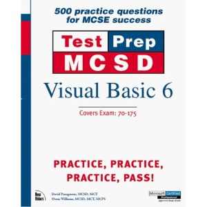 MCSD TestPrep: Visual Basic 6