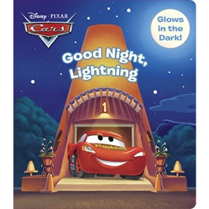 Good Night, Lightning (Disney/Pixar Cars) (Glow-In-The-Dark Board Book)
