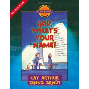 God, What's Your Name? (Discover 4 Yourself Inductive Bible Studies for Kids (Paperback))