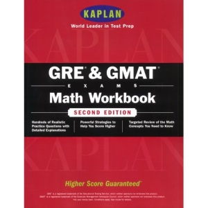 Gre/Gmat Math Workbook (Kaplan Gmat Math Workbook)