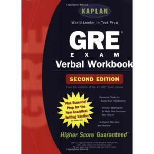 Kaplan GRE Exam Verbal Workbook