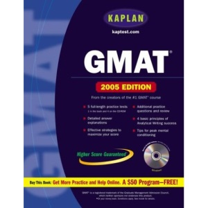 Kaplan GMAT 2005 (Kaplan GMAT Premier Program (w/CD))