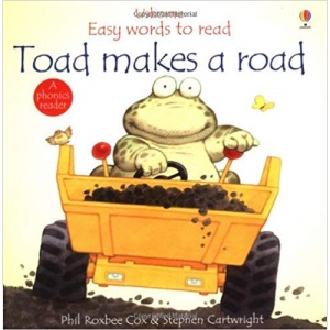 Toad Makes a Road (Usborne Easy Words to Read S.)