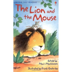 The Lion and the Mouse (Usborne First Reading: Level 1)