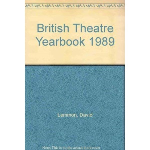 British Theatre Yearbook 1989