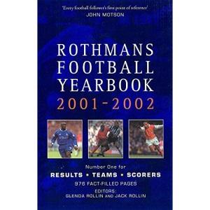 Rothman's Football Year Book  2001-2002