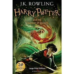 Harry Potter And The Chamber Of Secrets (Book 2) Large Print edition