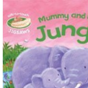 Mummy and Baby Jungle: Soft-to-Touch Jigsaws