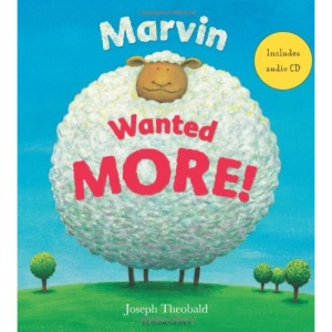 Marvin Wanted More! (Book & CD)