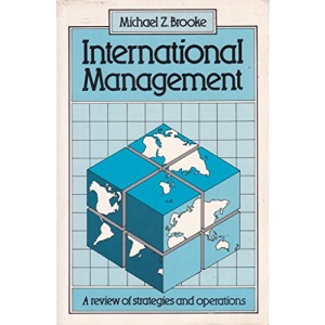 International Management: A Review of Strategies and Operations