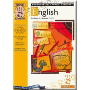 ENGLISH KS1 TEACHERS & COPYMASTERS - 2ND EDITION - BLUEPRINTS: Blueprints - English Key Stage 1 Scotland P1-P3 Photocopiable Pupil's Resource Second Edition