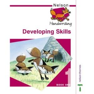 Nelson Handwriting - Pupil Book 1 New Edition (X8): Nelson Handwriting Developing Skills Book 1: Developing Skills Bk. 1