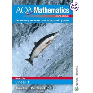 AQA Mathematics for GCSE Linear Evaluation Pack: AQA GCSE Mathematics for Linear Higher 1: 5