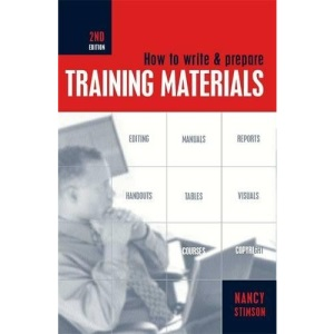 How to Write and Prepare Training Materials
