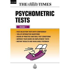 Psychometric Tests: Volume 1 CD-ROM: v. 1 (The Times testing series)