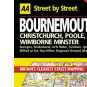 AA Street by Street Bournemouth