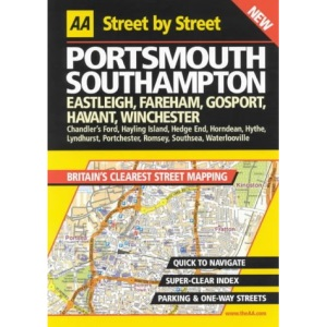 AA Street by Street Portsmouth, Southampton