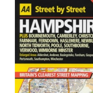 AA Street by Street Hampshire