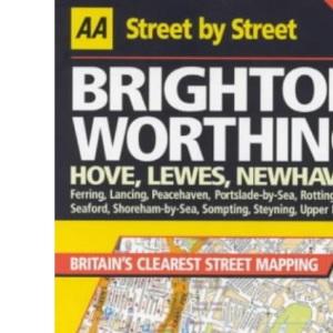 AA Street by Street Brighton, Worthing