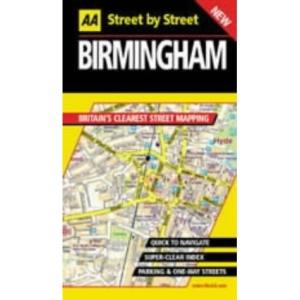 AA Street by Street Birmingham
