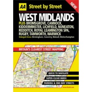 AA Street by Street West Midlands