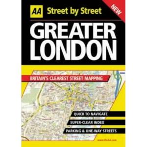 AA Street by Street Greater London
