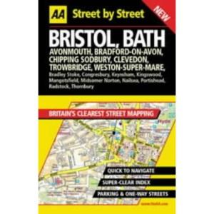AA Street by Street Bristol, Bath