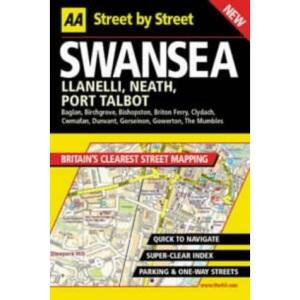 AA Street by Street Swansea