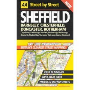 AA Street by Street Sheffield