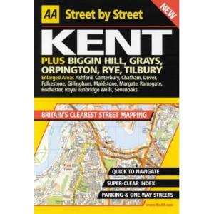 AA Street by Street Kent